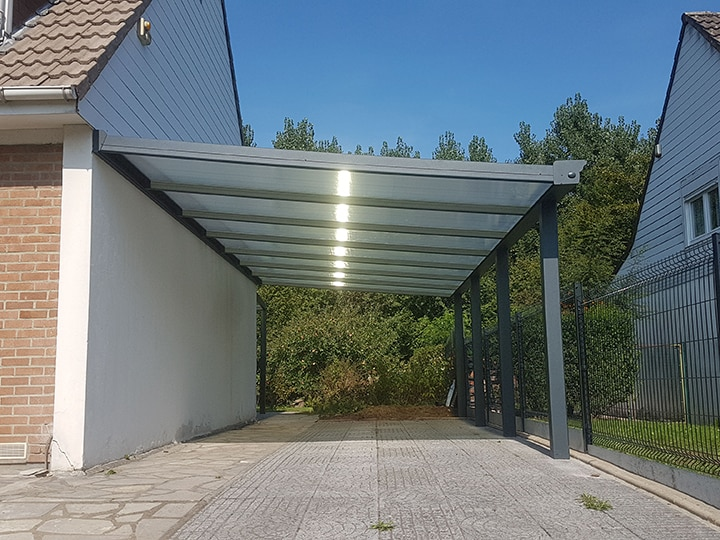 kit carport aluminium