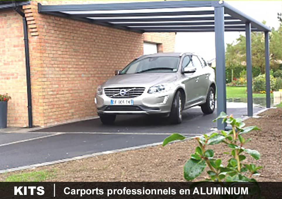 kit carport en aluminium