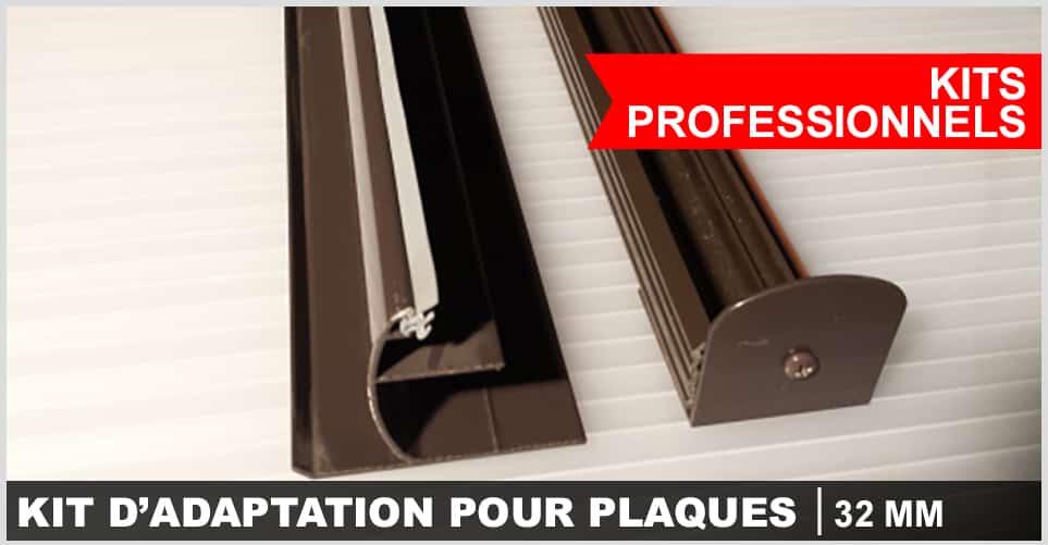 kit d' adaptation prefessionnel pour plaque 32mm