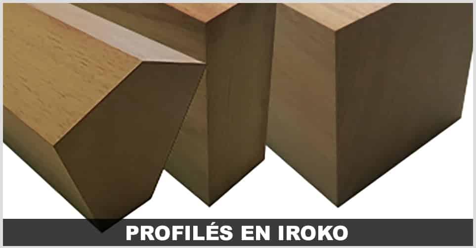 profiles en bois EXOTIQUE