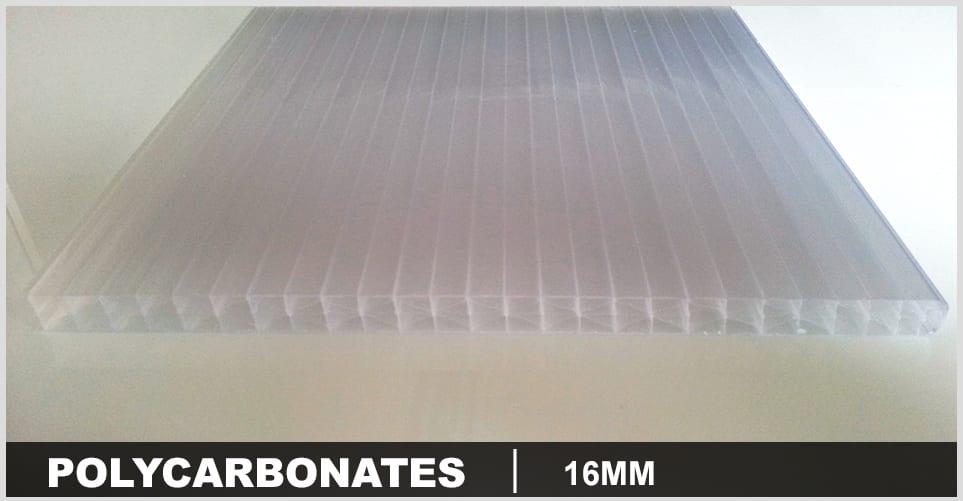 polycarbonate 16mm pas cher