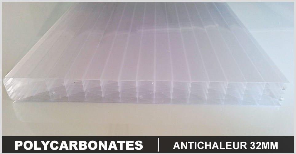 polycarbonate antichaleur 32mm pas cher